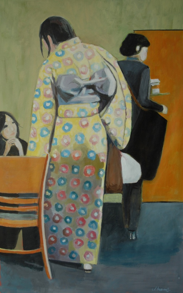 Late kimono. Julie Harms