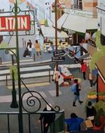 Vers Montmartre. 2012. J.Harms.