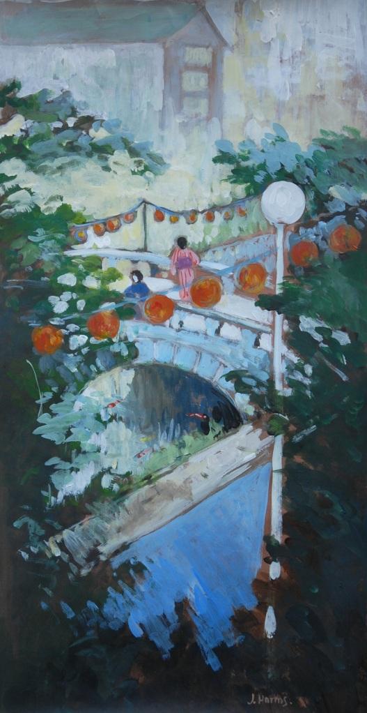 Lantern festival in Nagasaki. Julie Harms