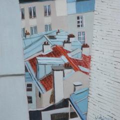 Vue de chez Nathalie. 2010. J.Harms.