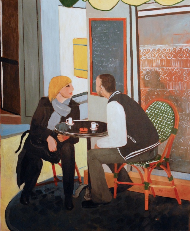 Coffee Break. 2012. Julie Harms