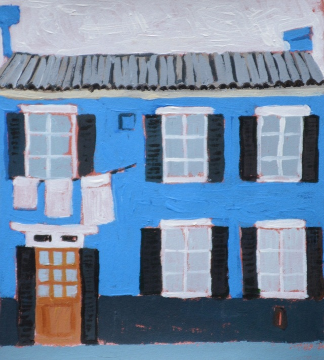 Blue house. My little Murano 2013. Julie Harms.