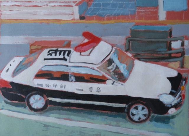 Police car. J.Harms
