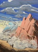 Le Mont Calme. 2015. J.Harms.