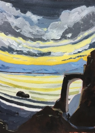 Le lac laiteux. 2016. J.Harms.
