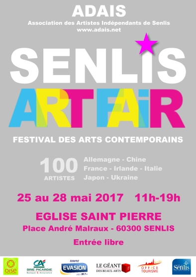 affiche senlis art fair 2017 2